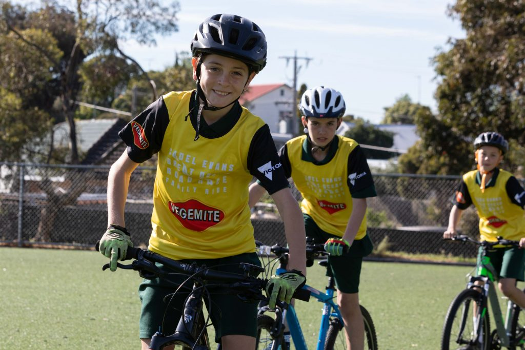 Vegemite Family Ride - Cadel Road Race - Kids